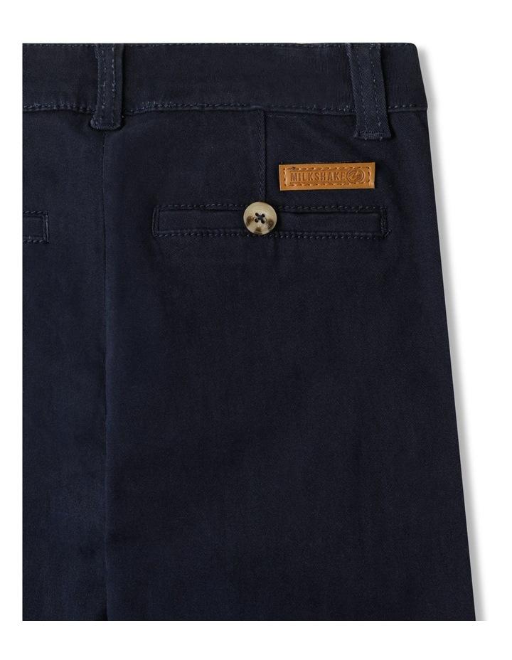 Stretch Chino Pants Navy image 5