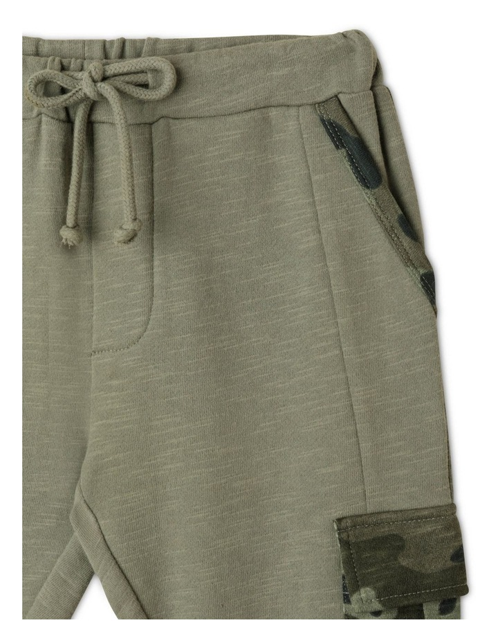 French Terry Trackpant with Cargo Pockets image 2
