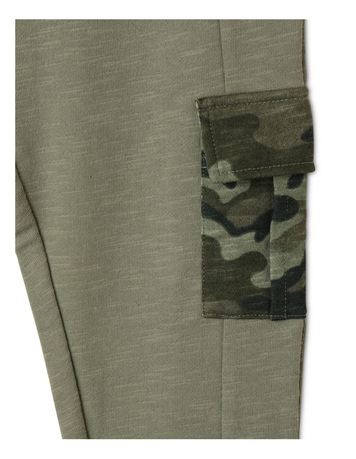 French Terry Trackpant with Cargo Pockets image 3