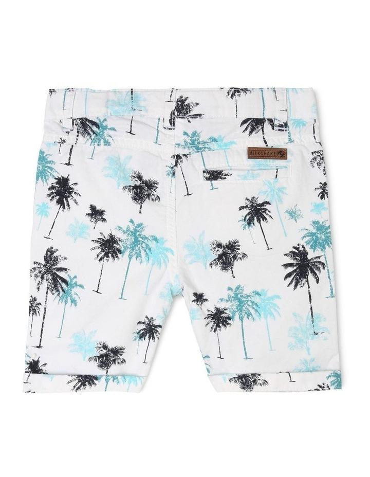 Palm Tree Print Shorts image 2