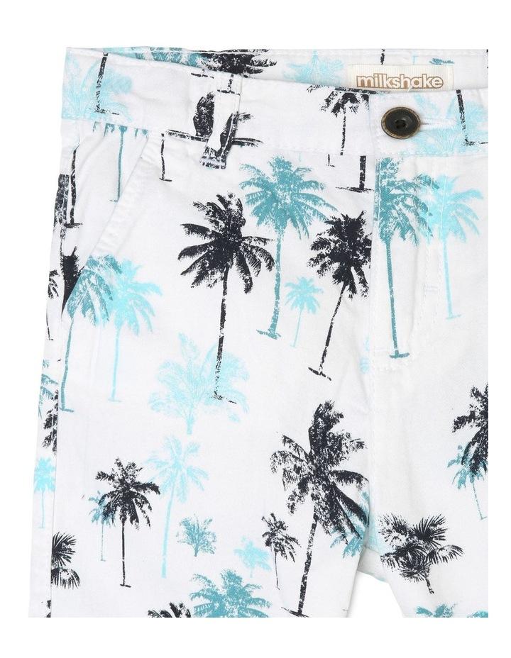 Palm Tree Print Shorts image 3