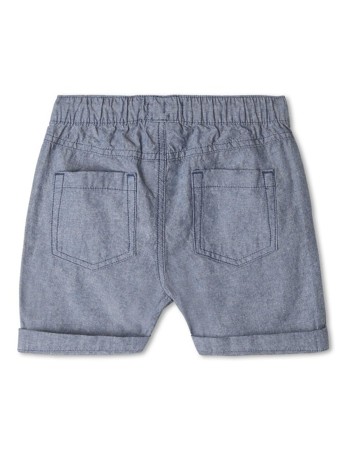 Essentials Chambray Pull On Short image 2
