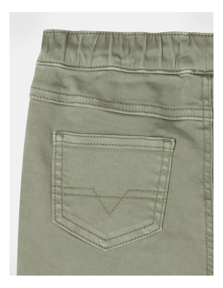 Pull On Knit Denim Short image 5