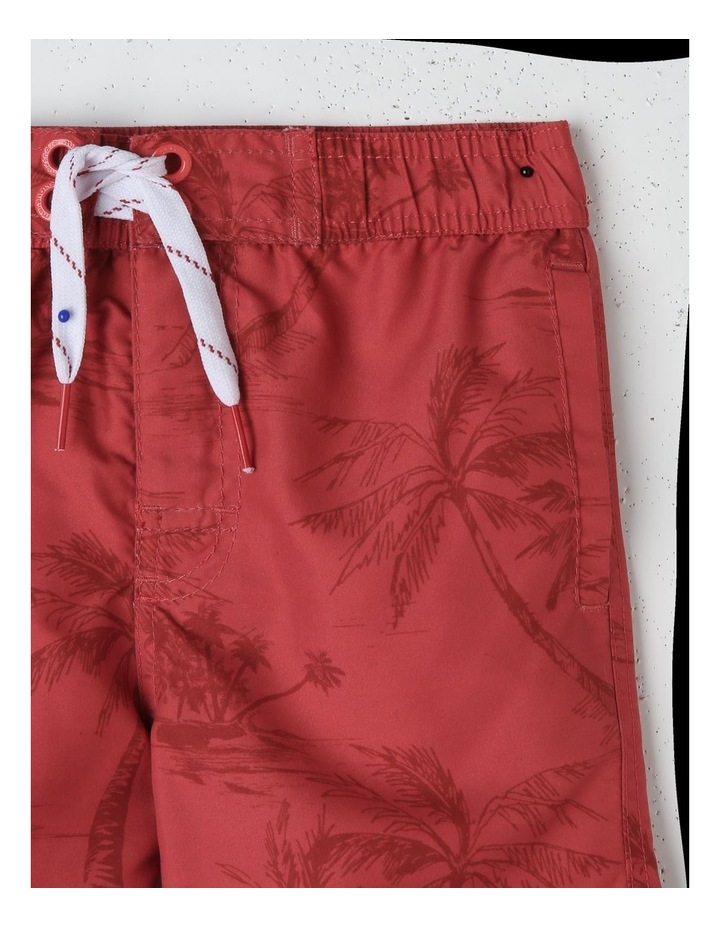 Palm Tree Print Board Short image 3