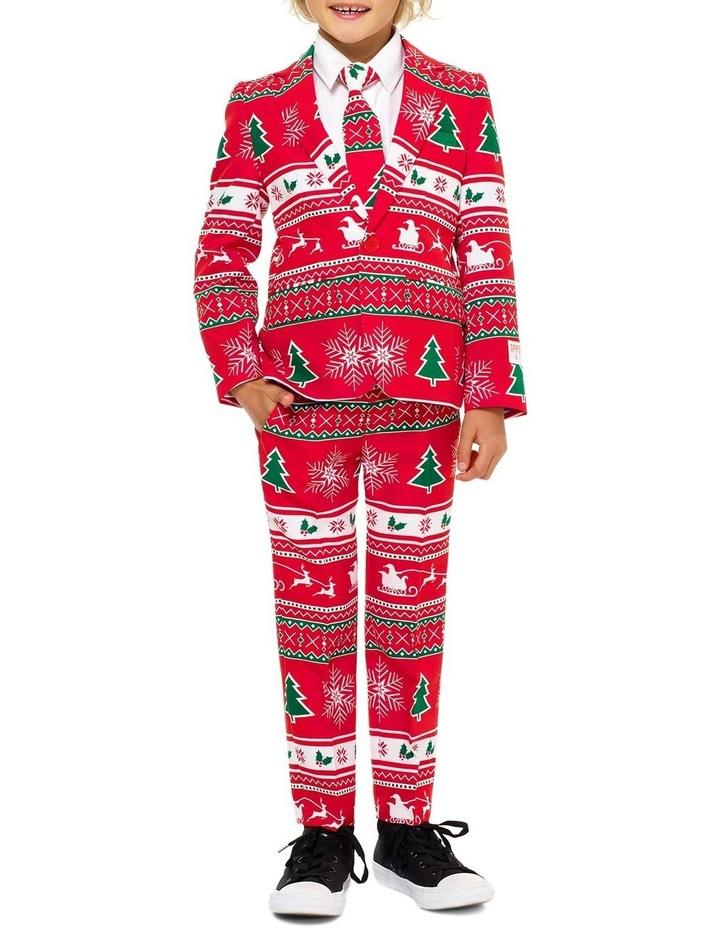 Boys Winter Wonderland Christmas Suit image 1