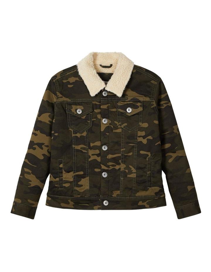 Camo Print Jacket image 1