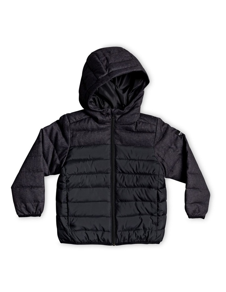 Scaly Mix - Hooded Puffer Jacket image 1