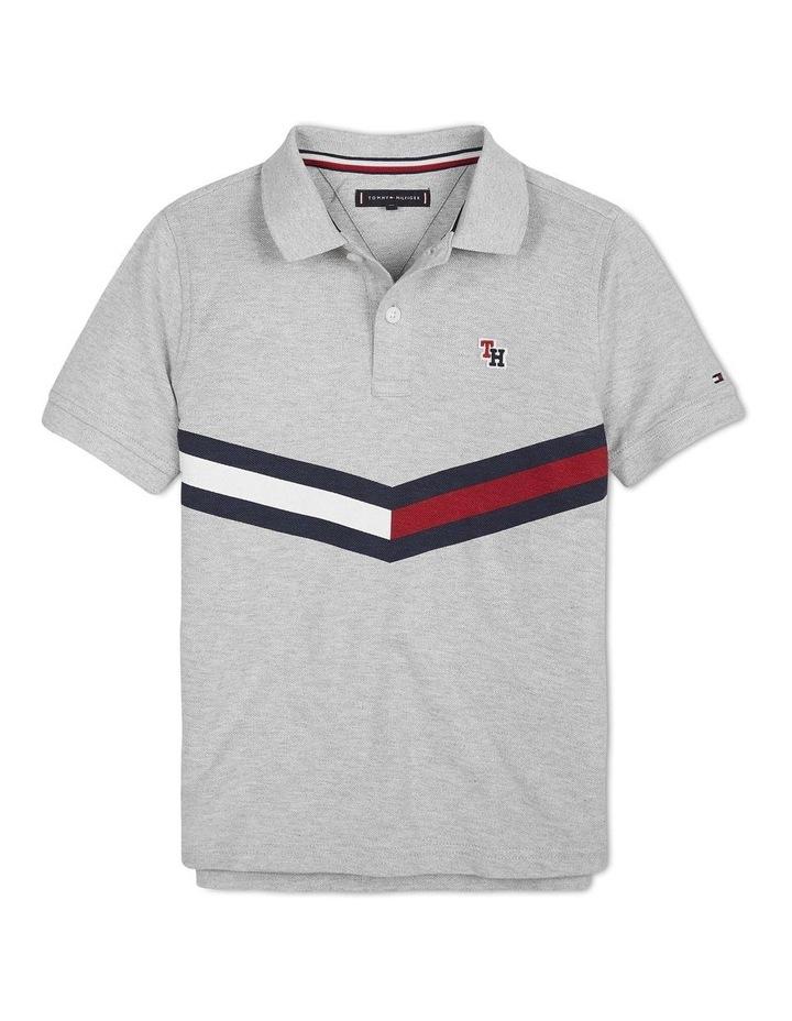 Chevron Flag Cotton Polo image 1