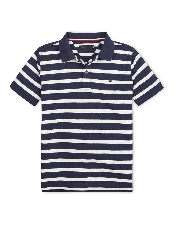 Small Stripe Polo Short Sleeve image 1