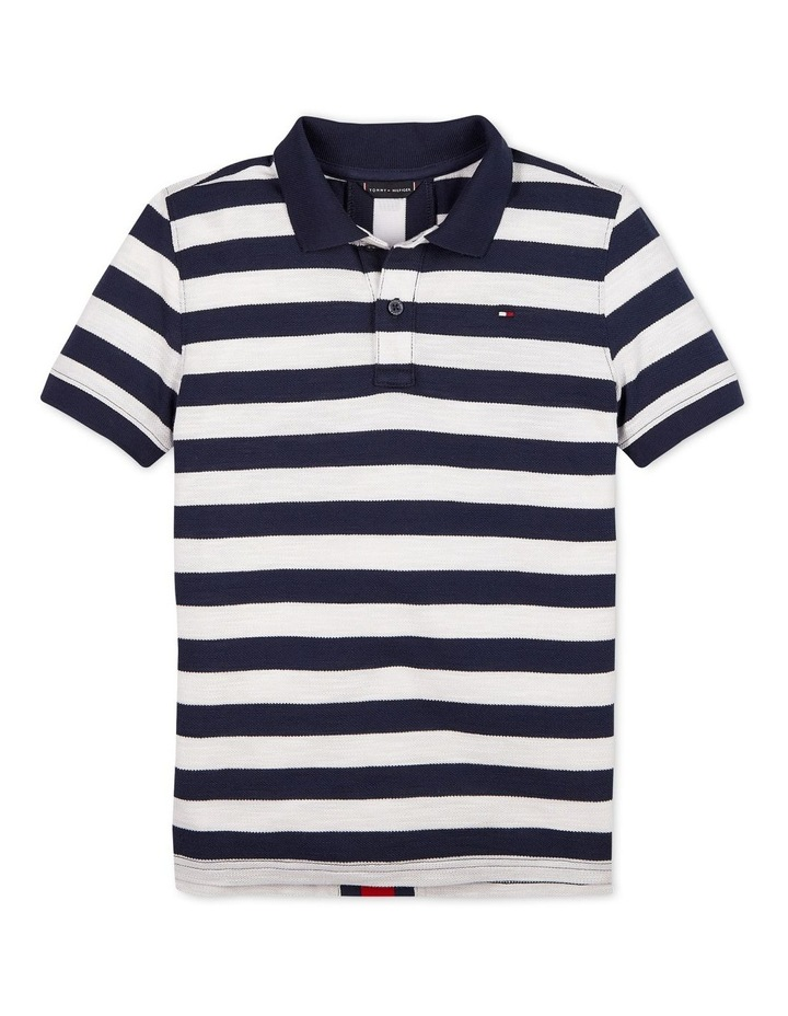 All-Over Stripe Polo image 1