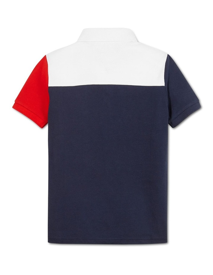 ITHACA COLORBLOCK POLO S/S image 2