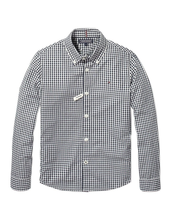 Long Sleeve Gingham Shirt image 1