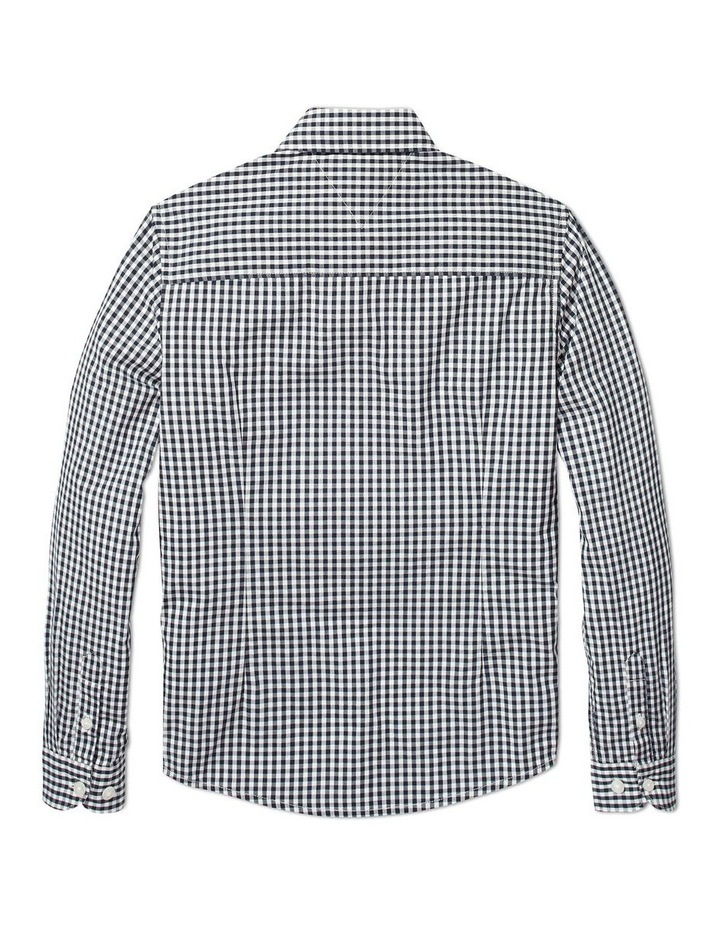 Long Sleeve Gingham Shirt image 2