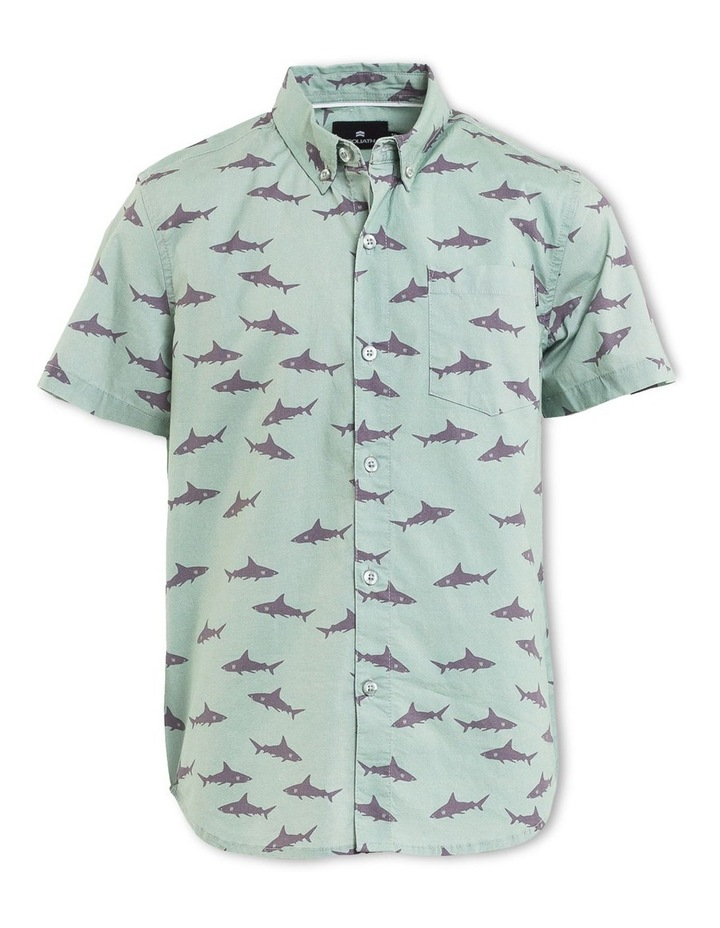 Jaws Short Sleeve Shirt image 1