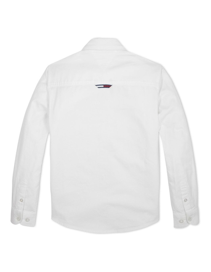 Boys 3-7 Essential Brushed Cotton Oxford Shirt image 2
