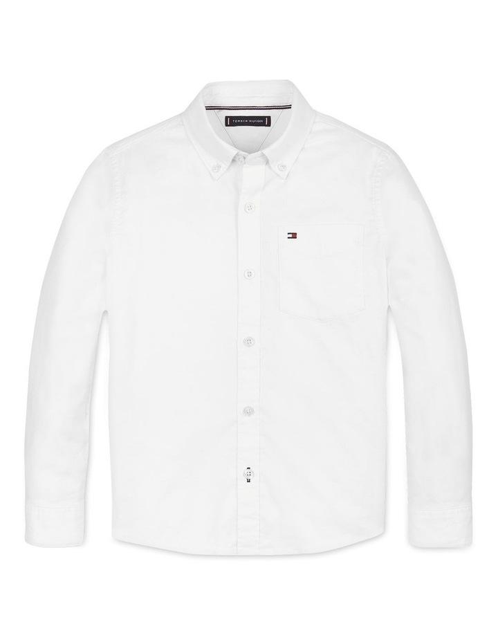 Boys Back Detail Oxford Shirt image 1