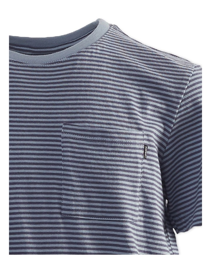 Pocket Stripe Tee 3-7 Boys image 3