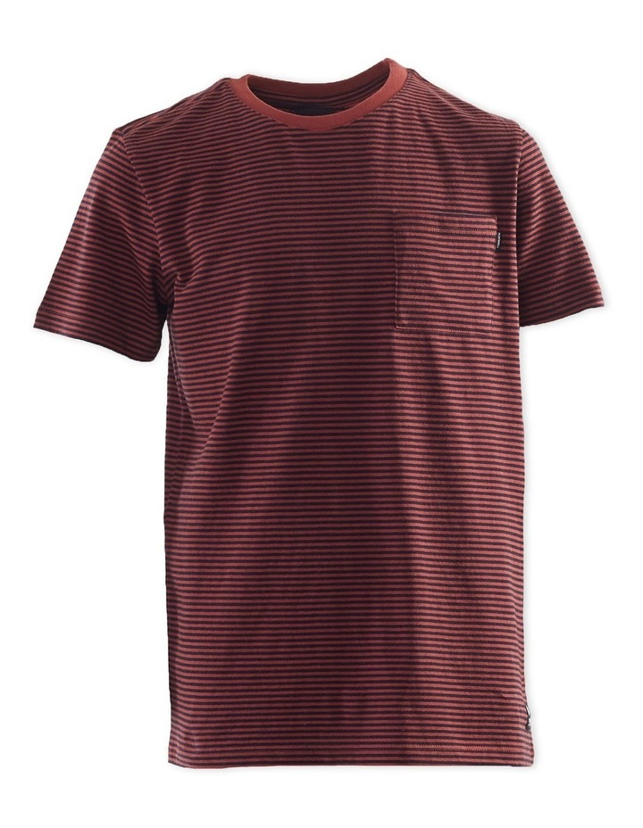 Pocket Stripe Tee 3-7 Boys image 1