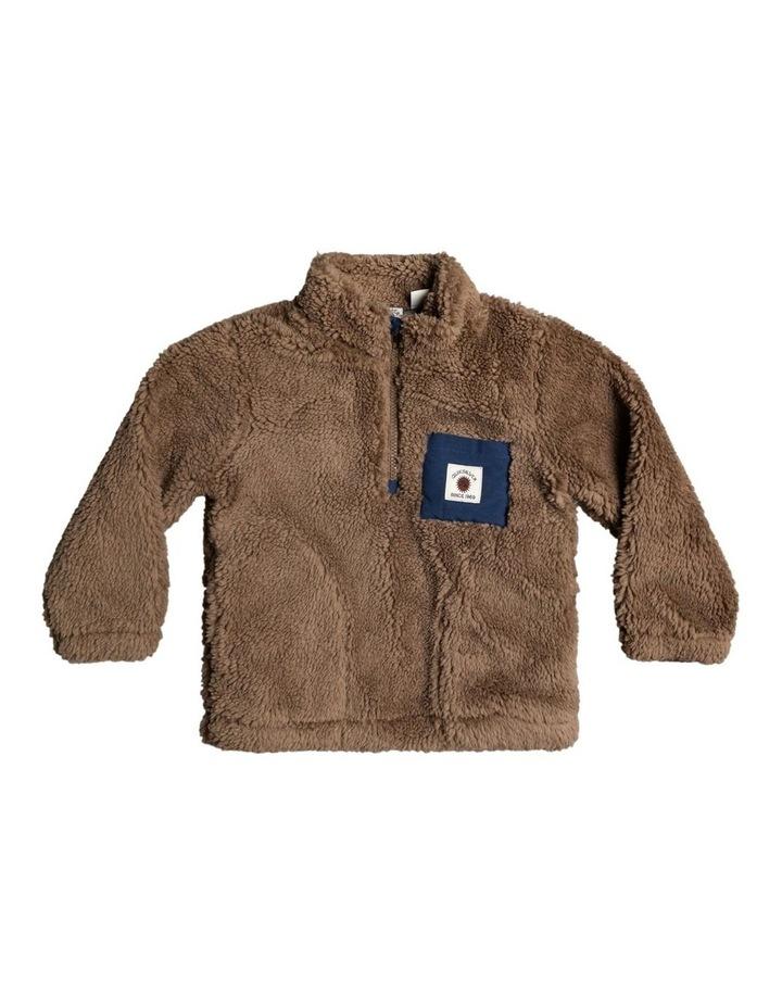 Van Life Sherpa - Half-Zip High Collar Sweatshirt for Boys 2-7 image 1