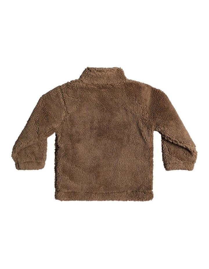 Van Life Sherpa - Half-Zip High Collar Sweatshirt for Boys 2-7 image 2