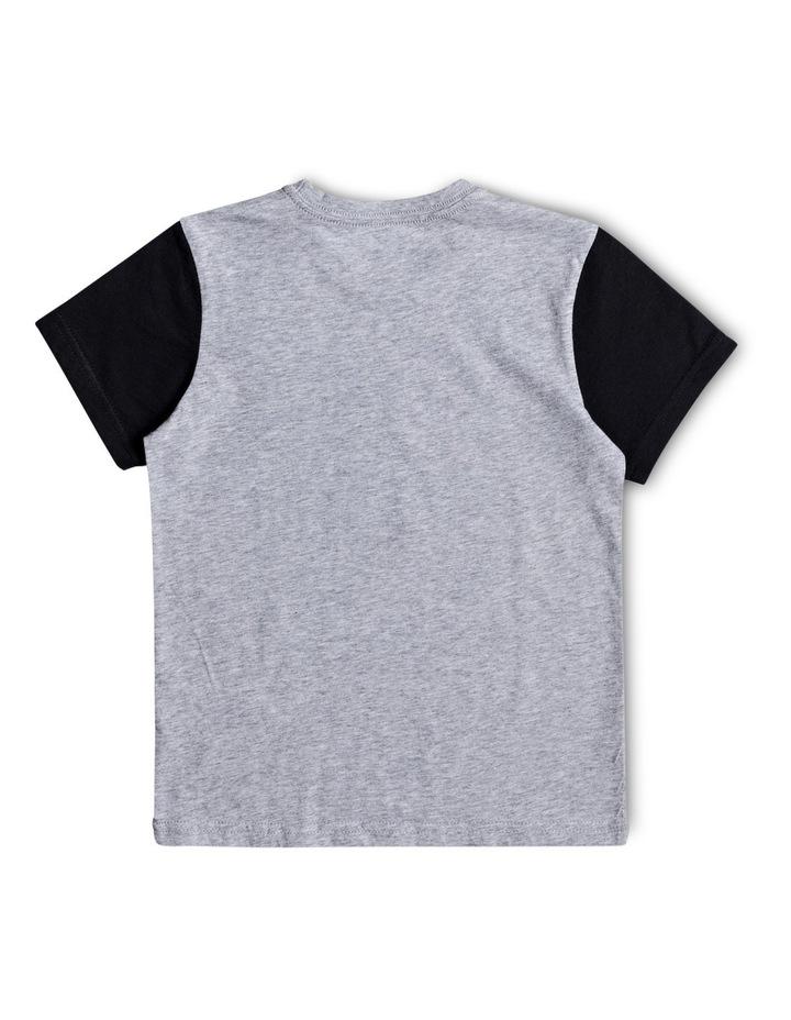 Color Block Vert Times - T-Shirt image 2