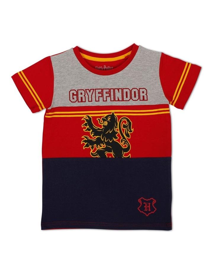 Harry Potter Yoke Panel Gryffindor T-Shirt image 1