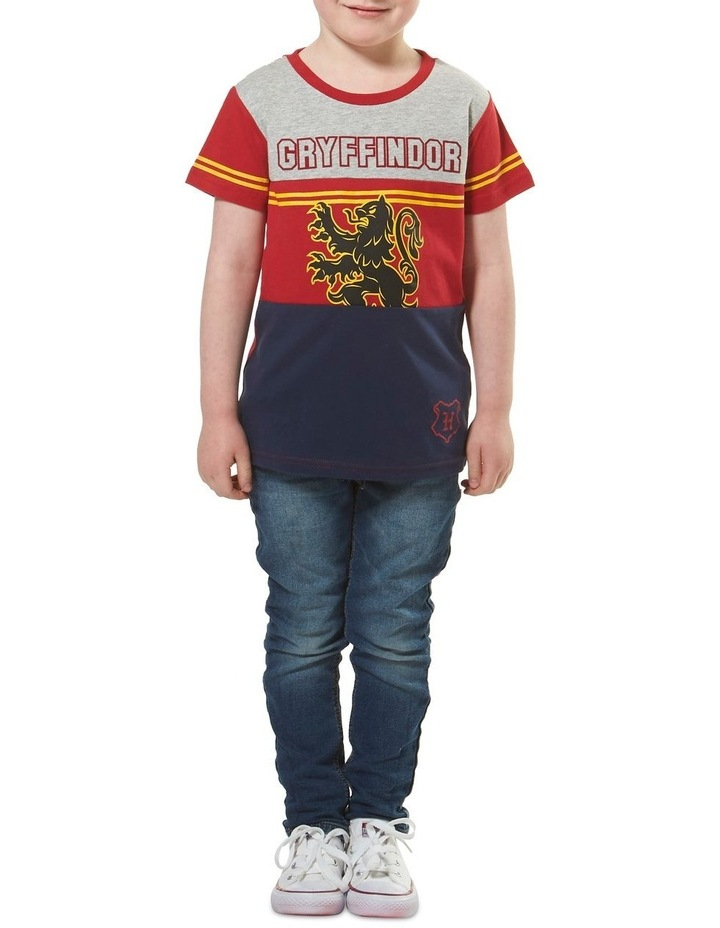 Harry Potter Yoke Panel Gryffindor T-Shirt image 3
