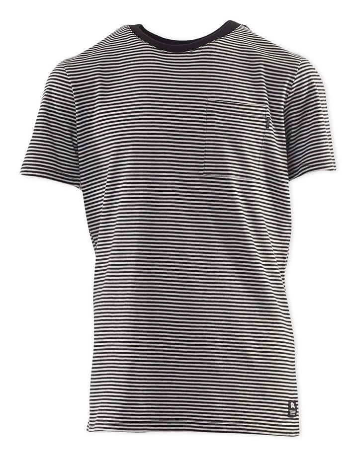 Pocket Stripe Tee 3-7 Boys image 1
