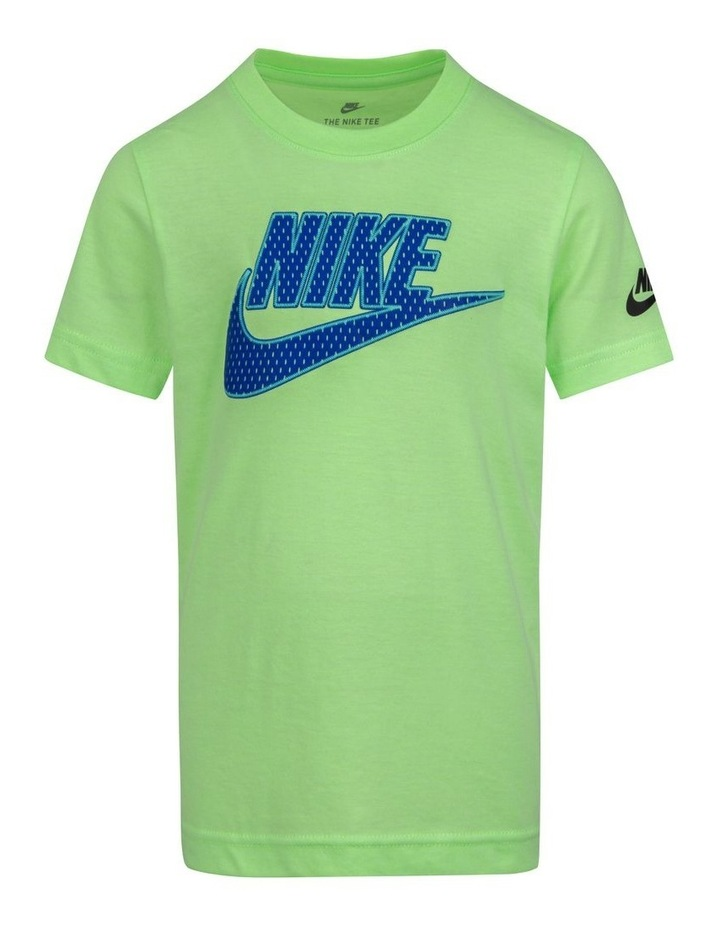 Graphic Glow Short Sleeve T-Shirt Lime image 1
