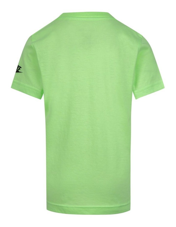 Graphic Glow Short Sleeve T-Shirt Lime image 2