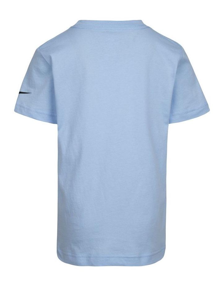 Graphic Psychic Short Sleeve T-Shirt Blue image 2