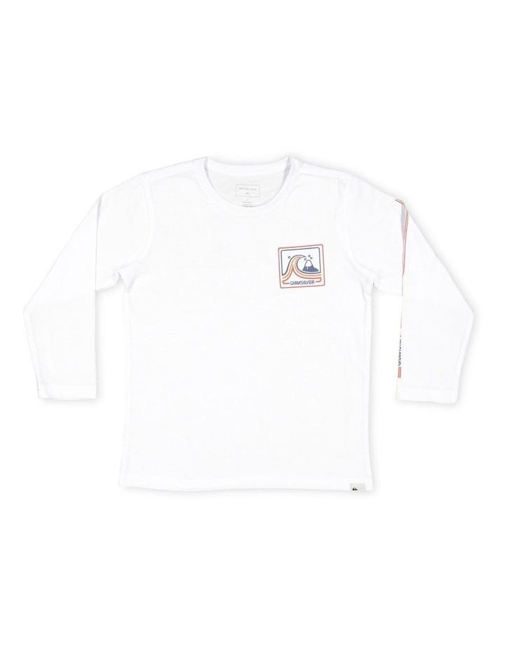 Highway Vagabond Long Sleeve T-Shirt for Boys 2-7 image 1