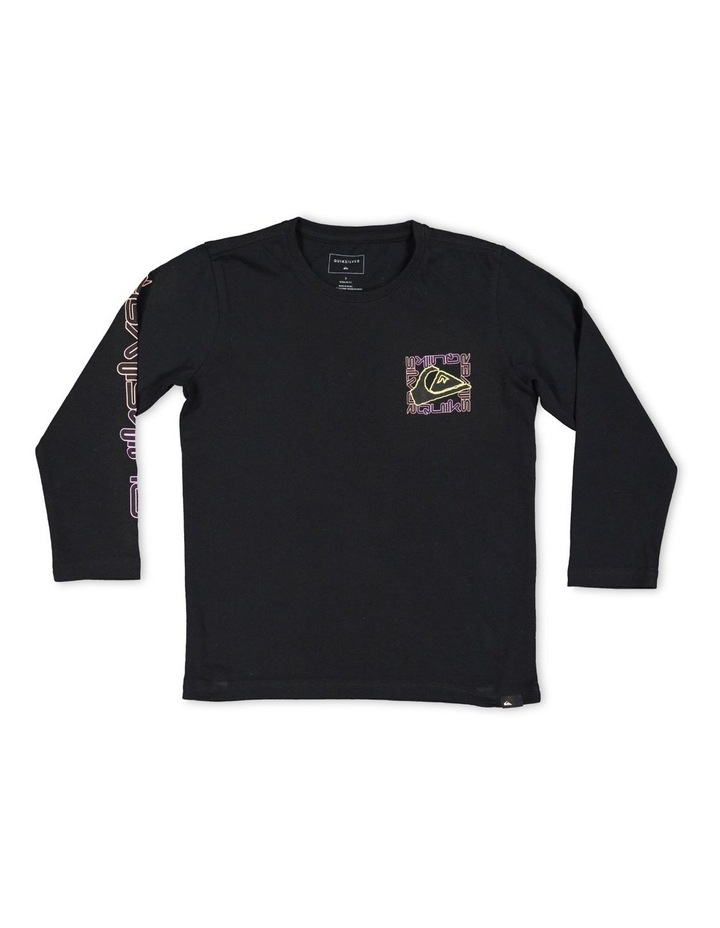 Hype Zone Long Sleeve T-Shirt for Boys 2-7 image 1
