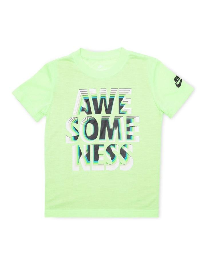 Graphic Short Sleeve T-Shirt Green image 1