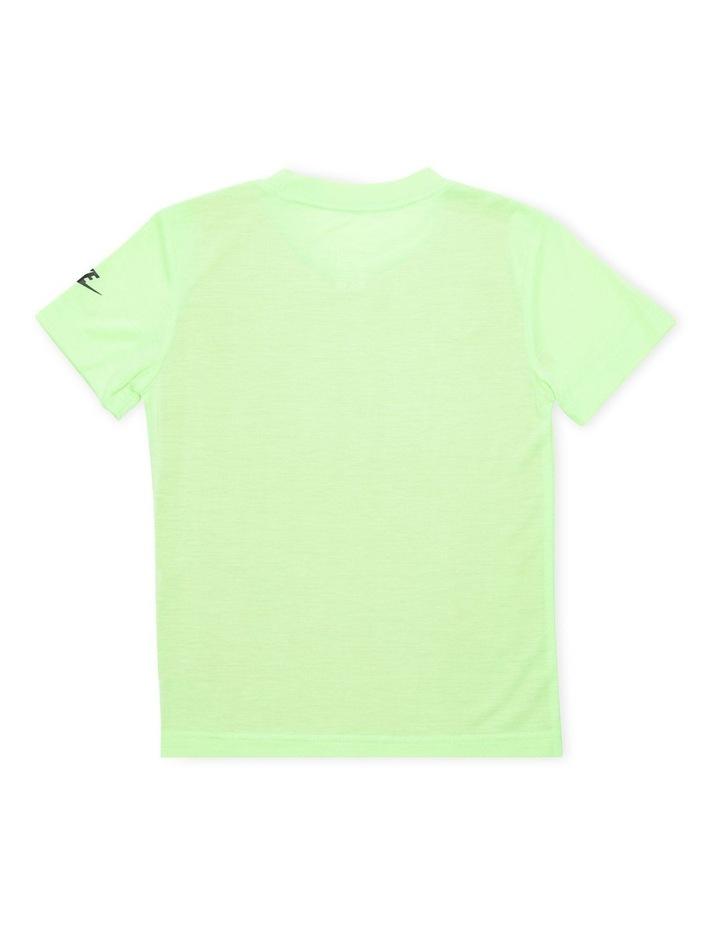 Graphic Short Sleeve T-Shirt Green image 2