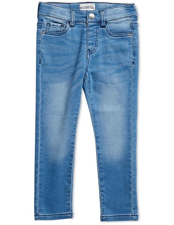 Boys Skinny Knit Jean image 1