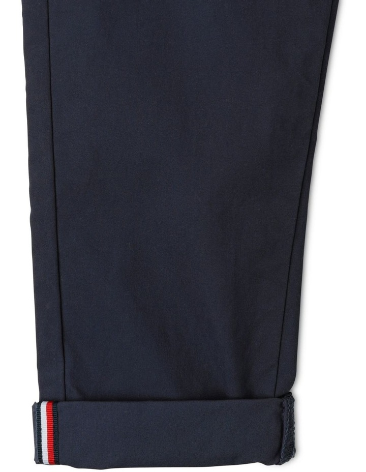 Stretch Poplin Pull Trousers image 3