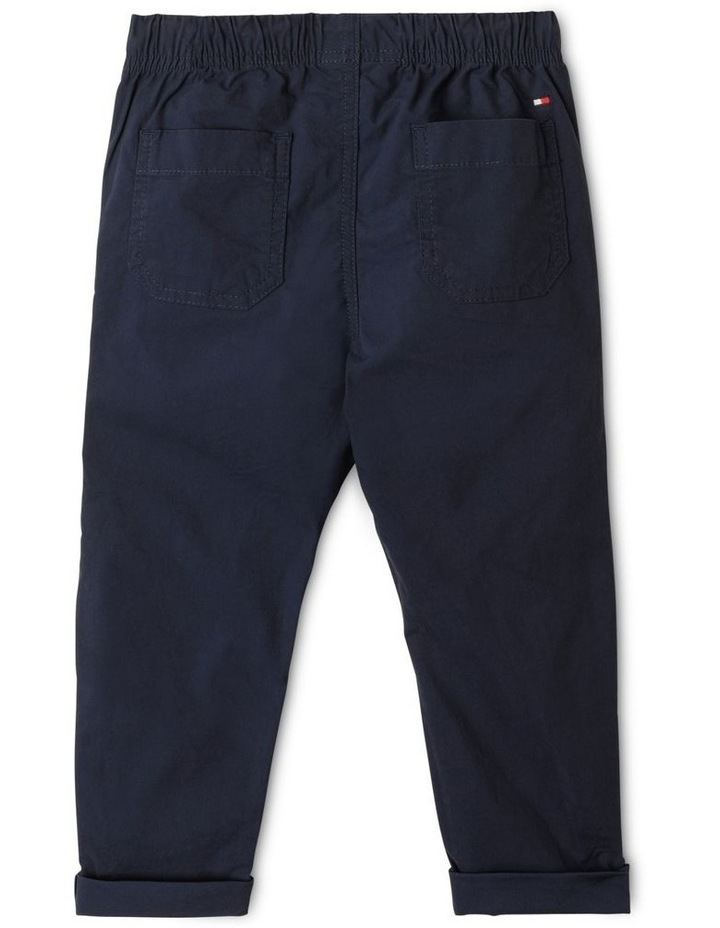 Stretch Poplin Pull Trousers image 4