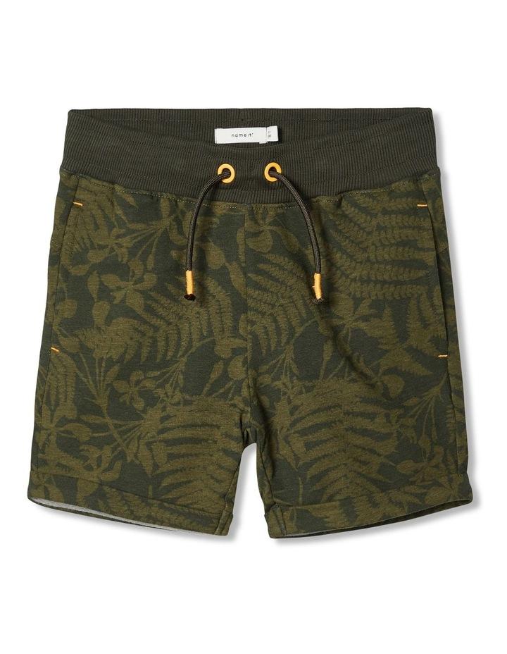 Exotic Leaf Sweat Shorts image 1
