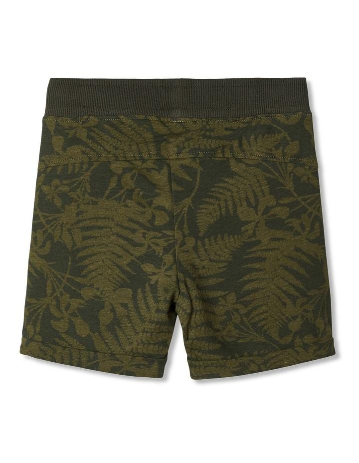 Exotic Leaf Sweat Shorts image 3