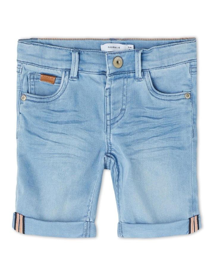 Sofus Denim Shorts Light Blue image 1
