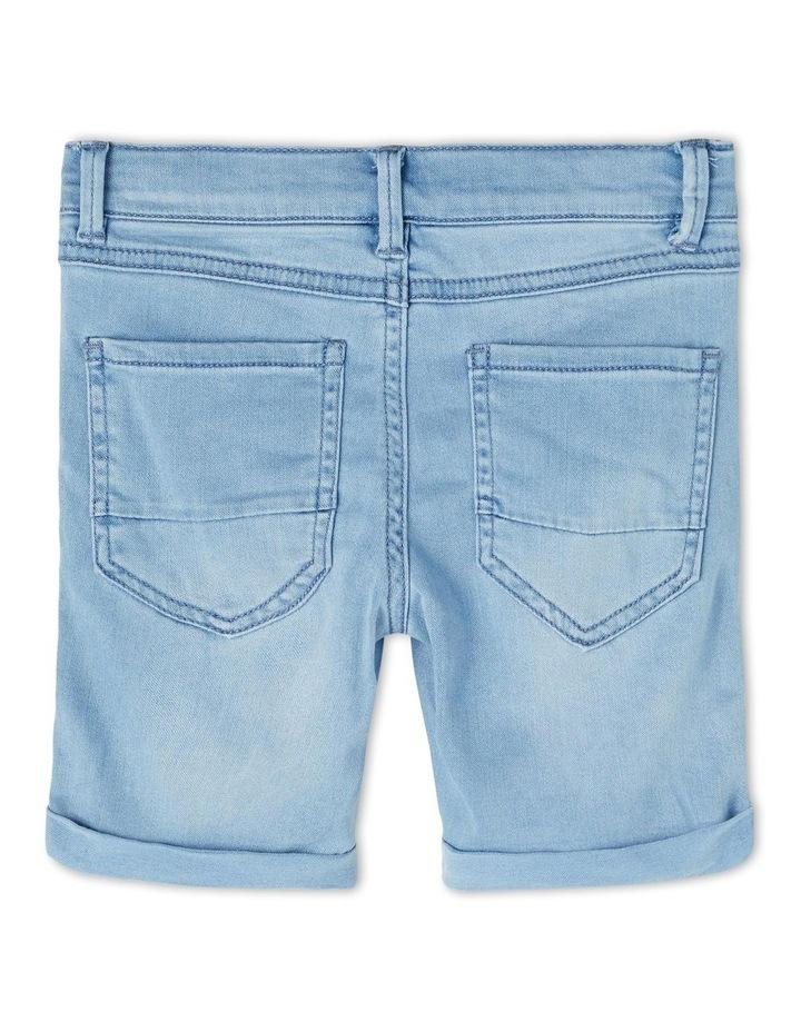 Sofus Denim Shorts Light Blue image 2