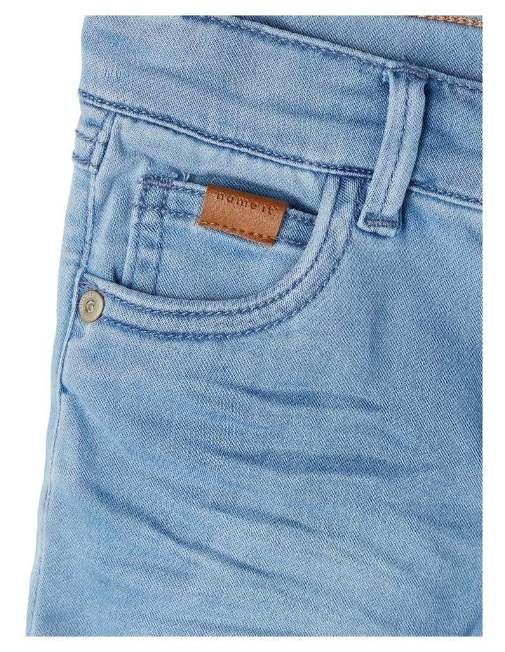Sofus Denim Shorts Light Blue image 3