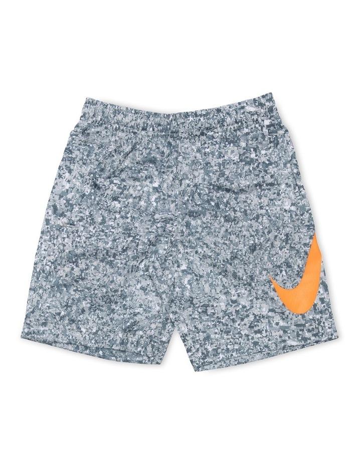 Digi Confetti Pattern Shorts Grey image 1