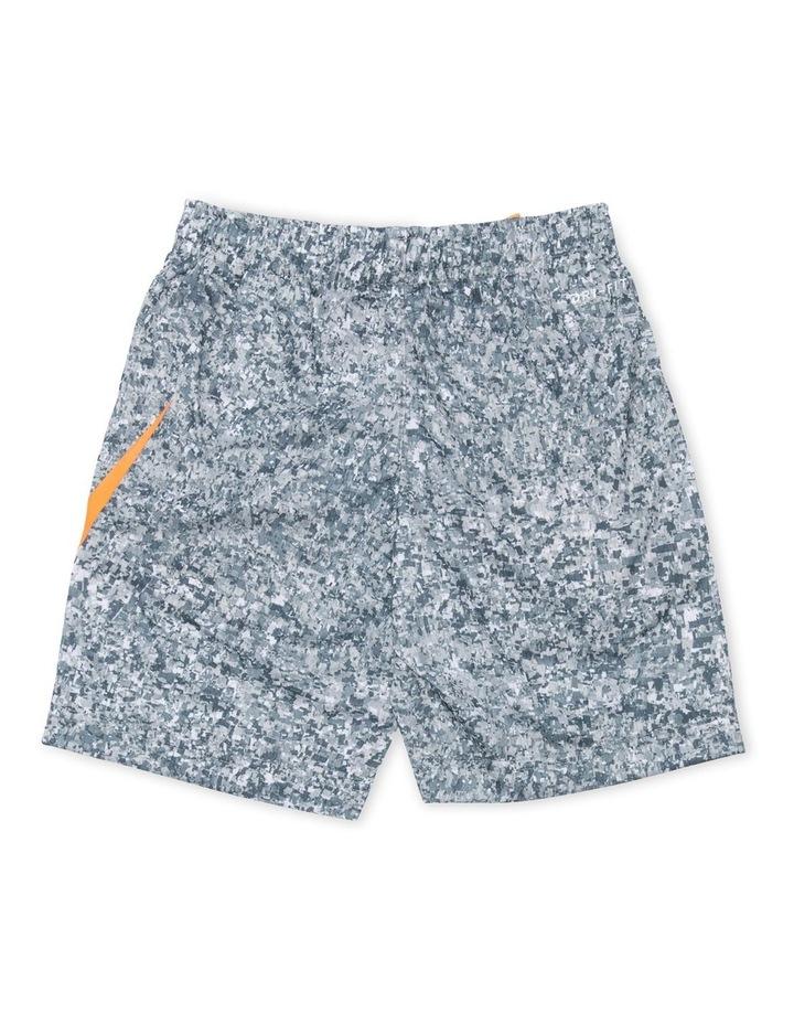 Digi Confetti Pattern Shorts Grey image 2