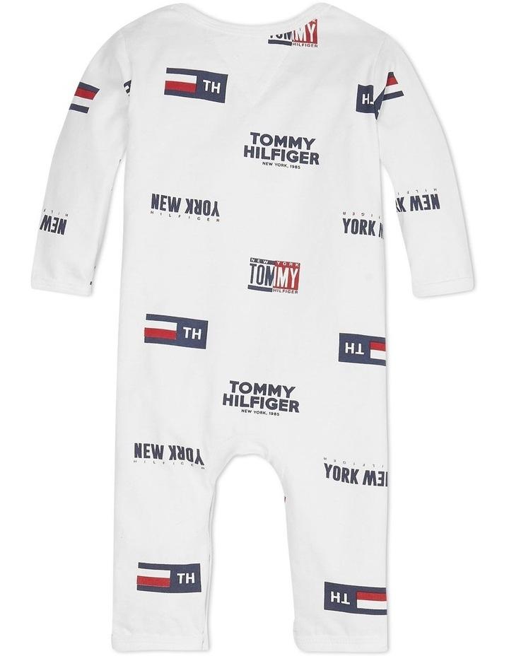 Baby Printed Footless Bodysuit image 2