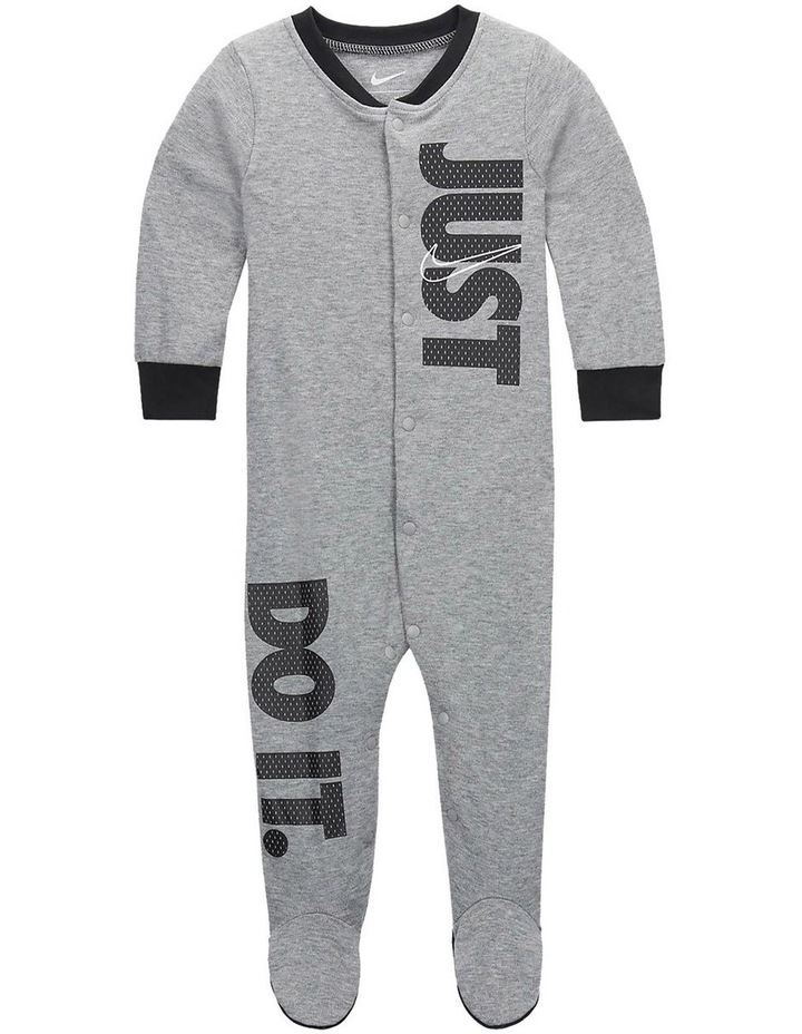 JUST DO IT FOOTED COVERALL image 1