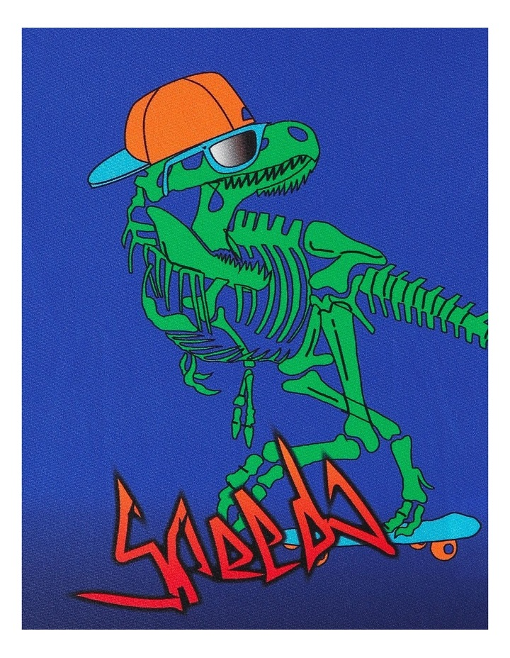 TODDLER BOYS GNARLY DINO LONG SLEEVE RASHIE image 2