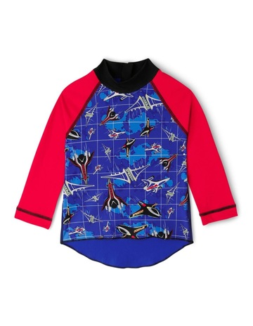 SpeedoTODDLER BOYS SPEEDO JET LONG SLEEVE SUNTOP. Speedo TODDLER BOYS SPEEDO  JET LONG SLEEVE SUNTOP d686eeeb3957