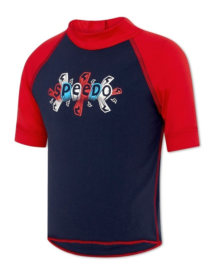 Boys Logo Short Sleeve Sun Top image 1